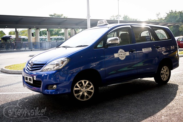Taxi Rental at Putrajaya