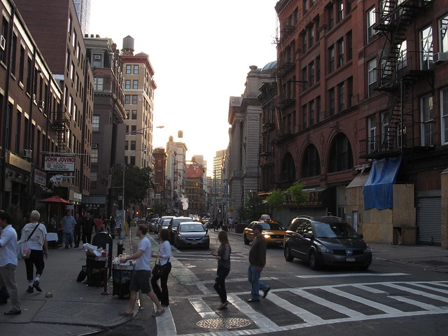 Mulberry and Grand Street, Little Italy, Manhattan, New Yo… | Flickr ...