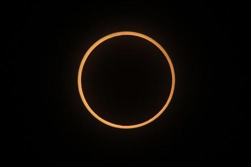 めっちゃ金環日食