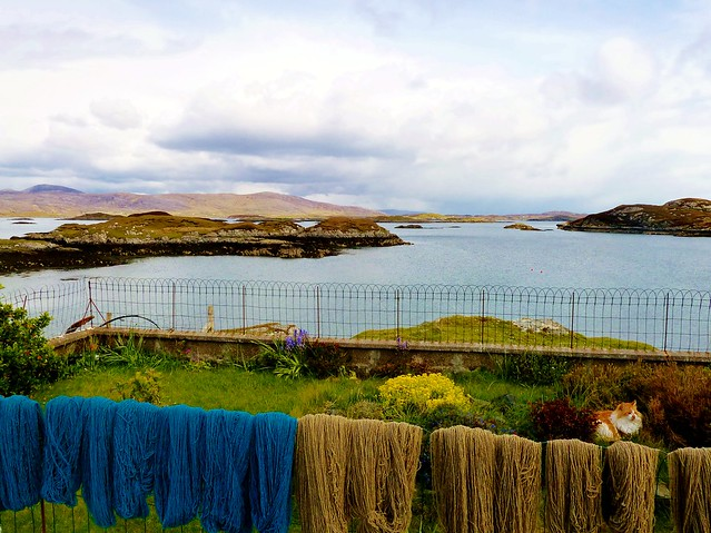 Dyed Wool, Isle of Harris