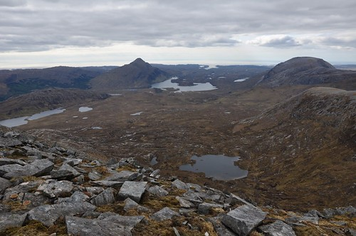 Ben Stack from Meallan Liath Coire Mhic Dhughaill