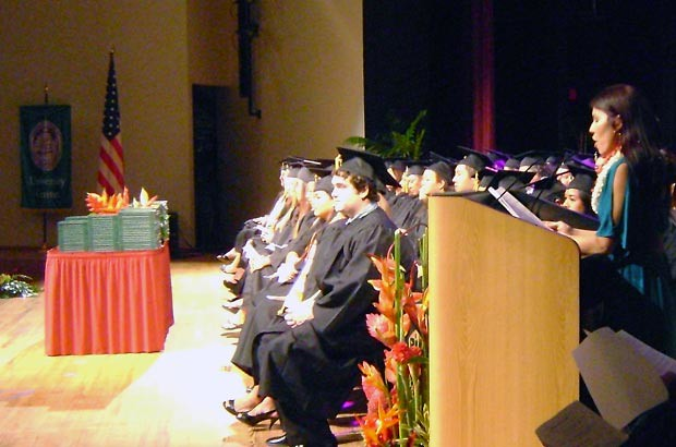 <p>The spring commencement ceremony for Kaua'i Community College was held on Friday, May 11</p>