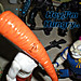 "DARK HORSE COMICS::   ""Flaming Carrot"" Action Figure xxv / .. with '89 Usagi Yojimbo (( 1999 ))"