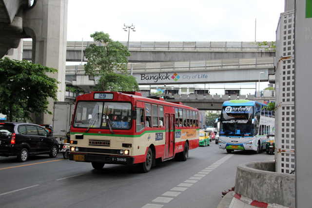 Normal Bangkok City Bus