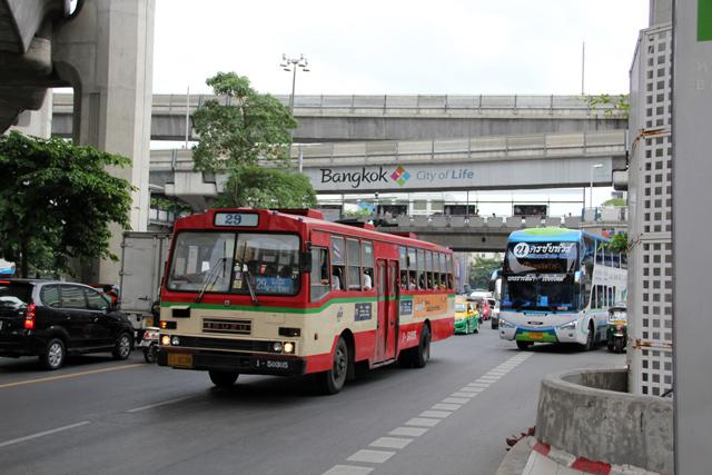 Normal Bangkok City Bus