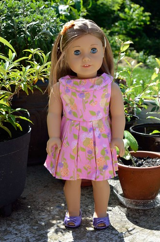 Gwynith Linette's Easter dress