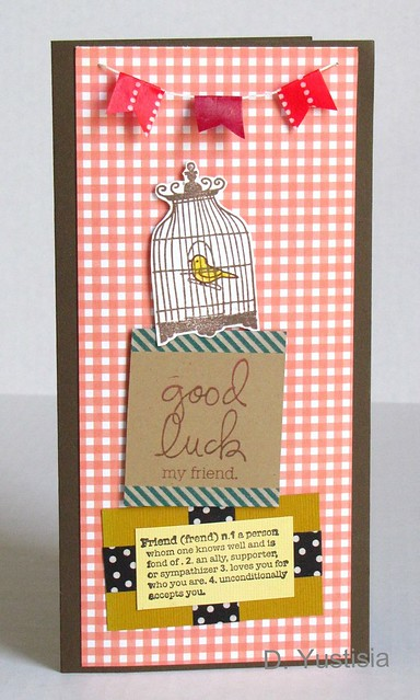 Card with Washi Tape Banners & Accents