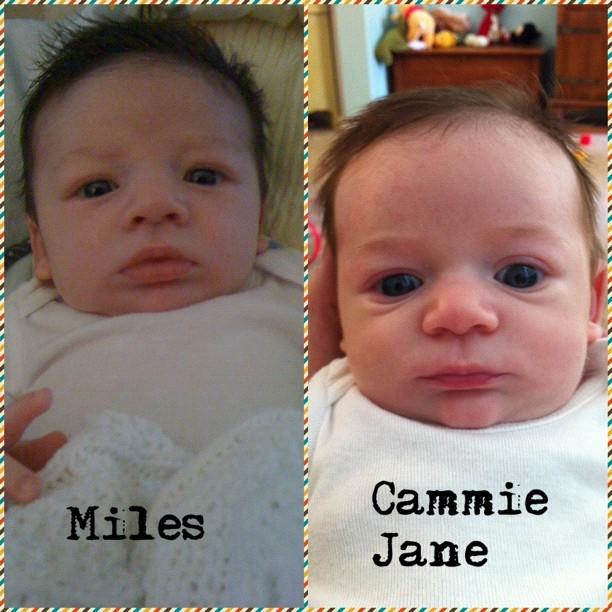 Same baby.
