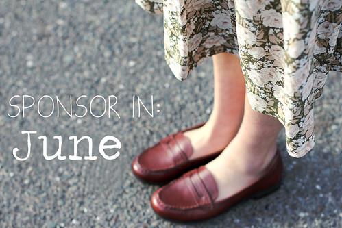 Sponsor in June