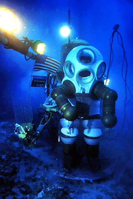 Sylvia Earle Oceaneering Below