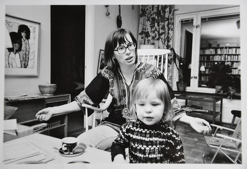 Mamma och jag oktober 1971