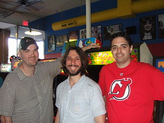 Ken, Rob, and Greg at YesterCades