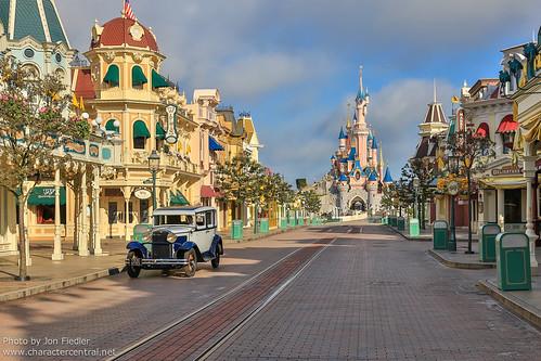 Main Street, U.S.A. at Disney Character Central