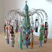 Peg doll chandelier by MoggyMoo