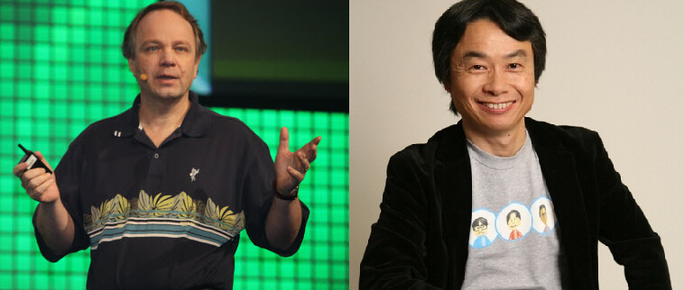 Sigheru Miyamoto vs Sid Meier