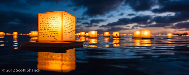 Honolulu Lantern Floating Ceremony 2012