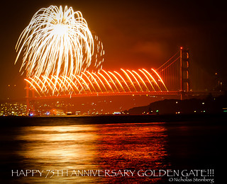 """GOLDEN SHOWERS""- Happy Birthday Golden Gate!!"