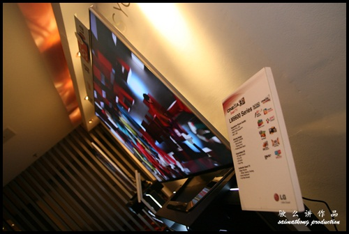 LG CINEMA 3D Smart TV : Model LG LM9600