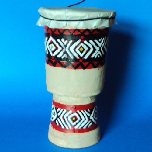 crafts for kids easy craft african drum flickr   photo sharing