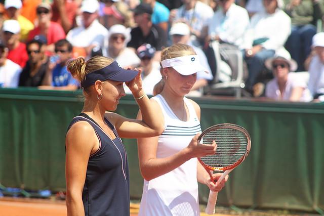 Ekaterina Makarova and Elena Vesnina