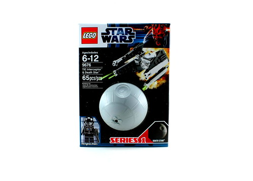 9676 TIE Interceptor & Death Star - Box Front