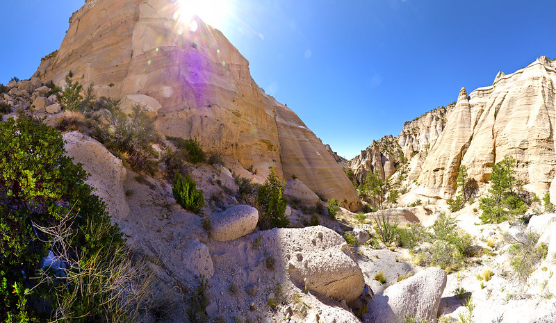 Tent Rocks by Vincent King