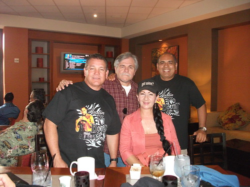 "Louie Burke, Me (Randy De La O), my wife Jeri De La O, Randy ""Moose' Gomez"