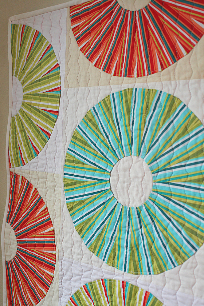 """Lifesavers"" mini quilt"