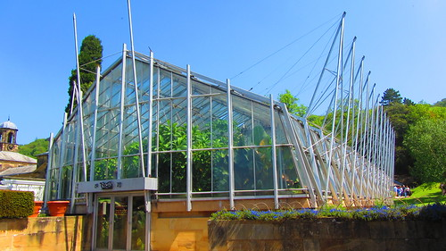 1970 greenhouse at Chatsworth