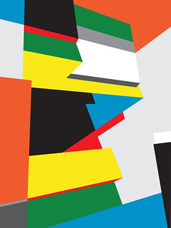 Untitled Composition (#14) - Abstract Geometric Art by Bryce Hudson