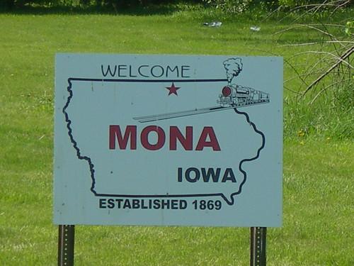 Mona Iowa