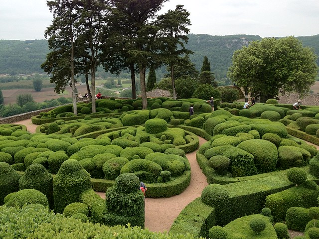 The Gardens at Chateau Marqueyssac