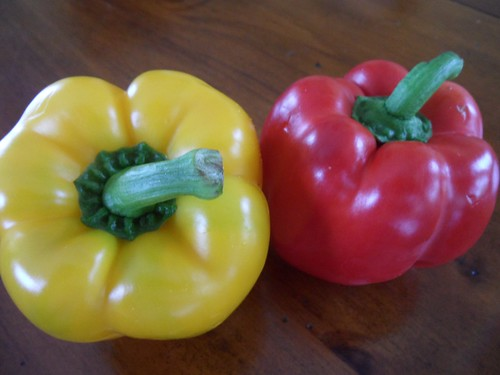 yin yang recipe - peppers