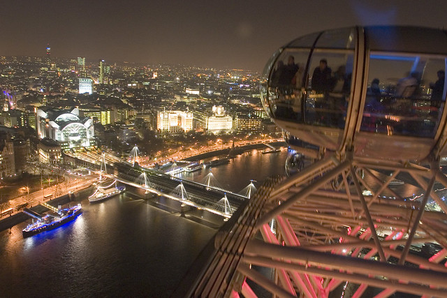 Лондон, Панорама с  Лондонского глаза, photo by Massaraksh