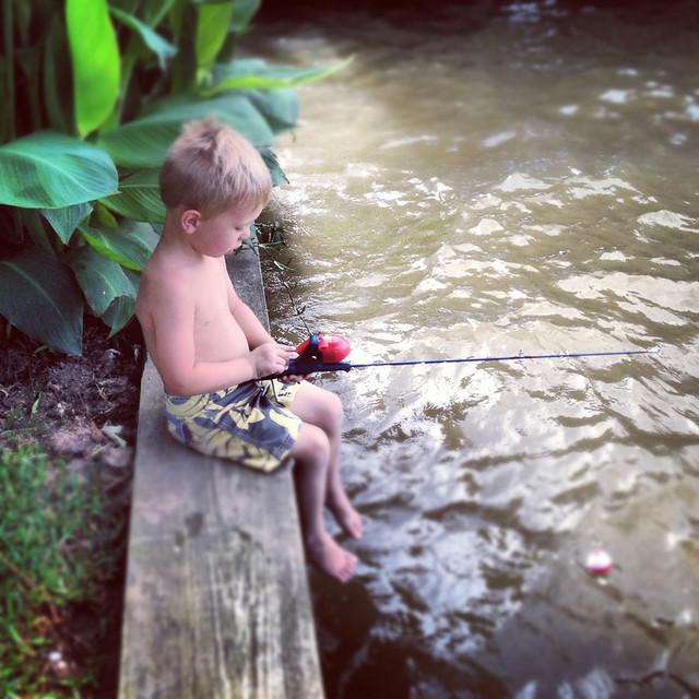 ben fishing insta
