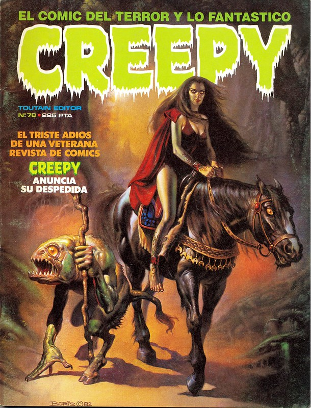 CREEPY - Nº 78 - TOUTAIN EDITOR - AÑO 1985_01