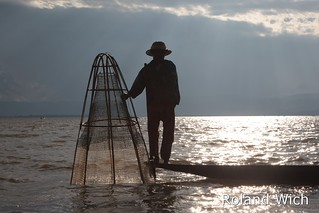 Inle Lake - Fishing