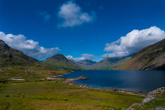 Wasdale valley view