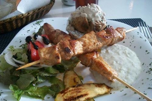 Cocina griega en Oaxaca