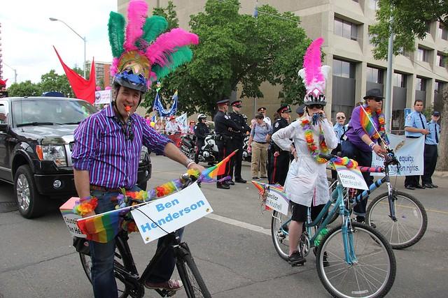 Edmonton Pride Parade 2012 Edmonton City Councillors