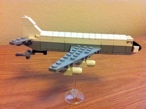 Lego micro scale KC-135