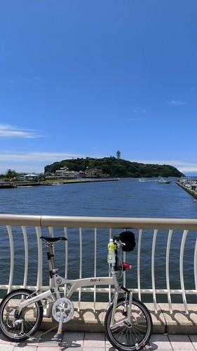 江ノ島とBD-1