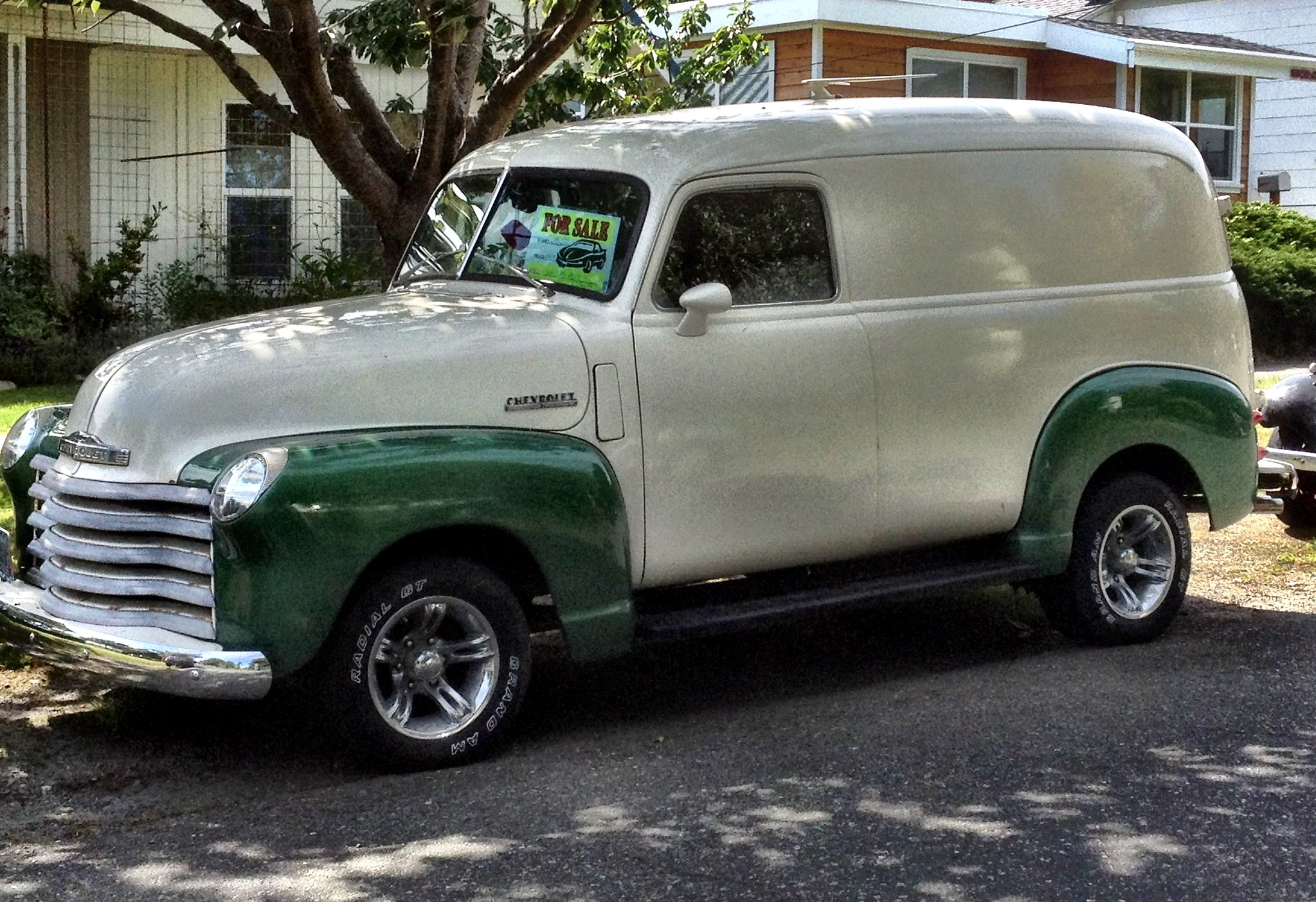 1948 Chevy Thriftmaster Panel Truck 25000 Seemed Steep