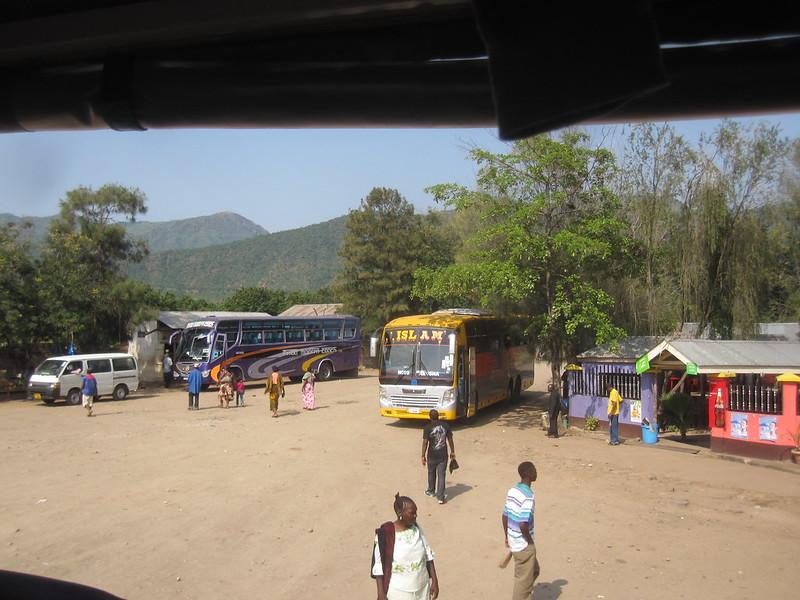 Bus Stop Tanzania