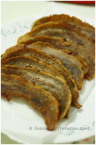Salt & Pepper Fried Pork Belly by kaoko