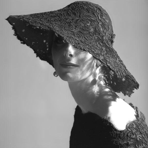 * Balenciaga Lace Hat photos by Tom Palumbo