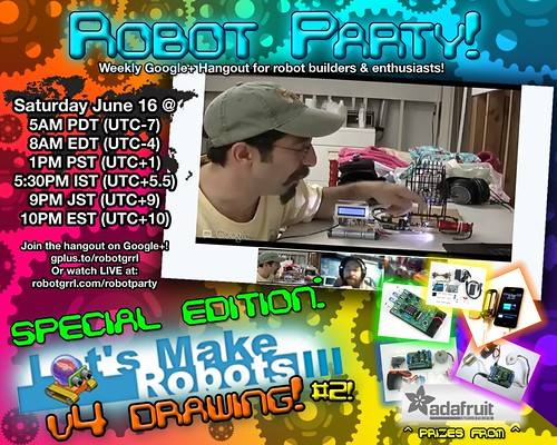 Recent Robot Party Splash Pics!