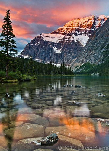 mountain canada sunrise britishcolumbia alberta rockymountains jaspernationalpark canadianrockies davidkiene