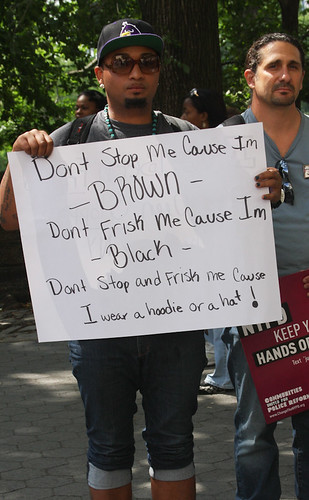 Silent March Against Stop and Frisk-58