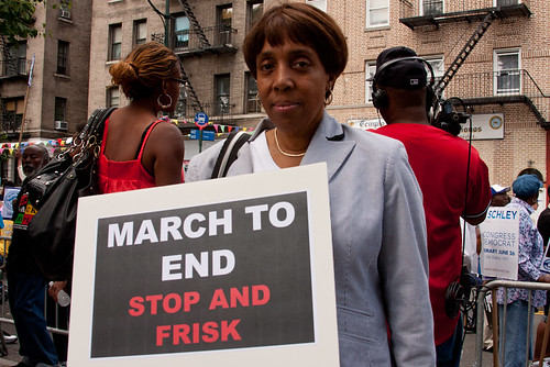 Silent March Against Stop and Frisk-24